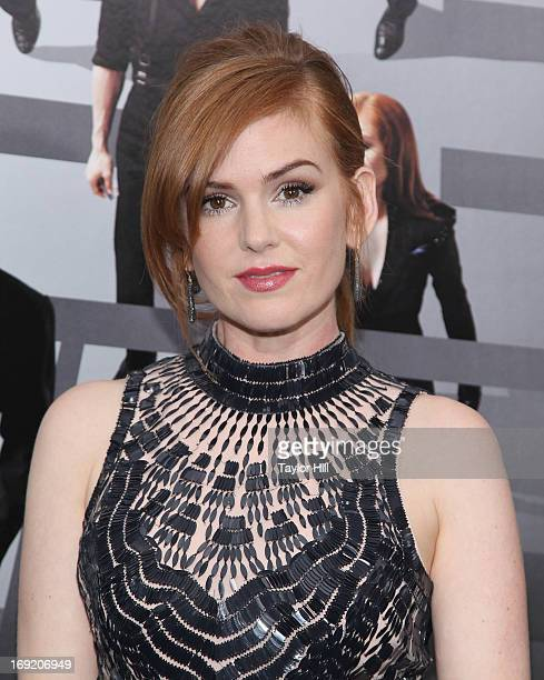 """Actress Isla Fisher attends the """"Now You See Me"""" premiere at AMC Lincoln Square Theater on May 21, 2013 in New York City."""
