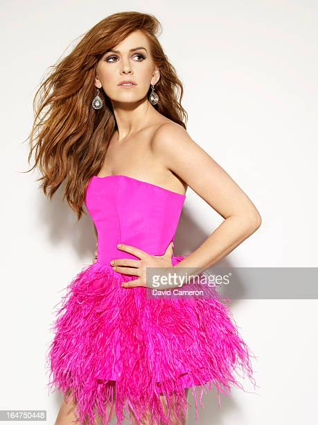 Actress Isla Fisher is photographed for C Magazine on February 1 2013 in Los Angeles California PUBLISHED IMAGE