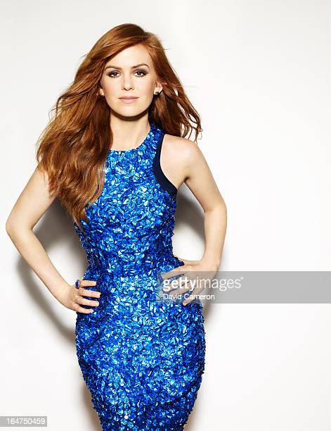 Actress Isla Fisher is photographed for C Magazine on February 1 2013 in Los Angeles California COVER IMAGE