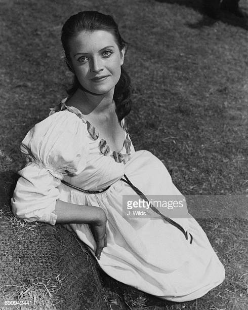 Actress Isobel Black who is playing Miranda in 'The Tempest' at the Open Air Theatre in Regent's Park London 31st May 1960