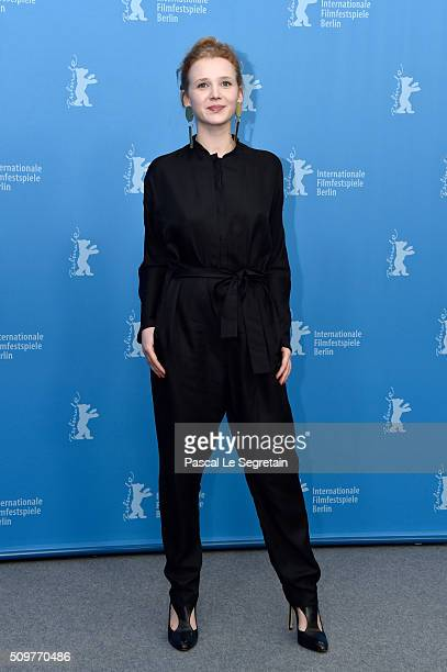 Actress Isolda Dychauk attends the 'Boris without Beatrice' photo call during the 66th Berlinale International Film Festival Berlin at Grand Hyatt...