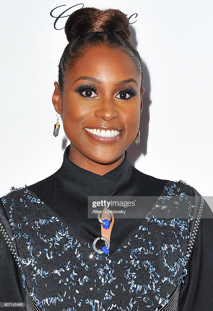 Actress Issa Rae attends 2016 Ebony Power 100 Gala at The Beverly Hilton Hotel on December 1, 2016 in Beverly Hills, California.