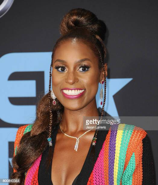 Actress Issa Rae attends the 2017 BET Awards at Microsoft Theater on June 25 2017 in Los Angeles California