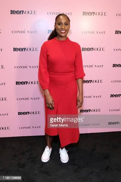 Actress Issa Rae attends the 2019 Teen Vogue Summit at Goya Studios on November 02, 2019 in Hollywood, California.