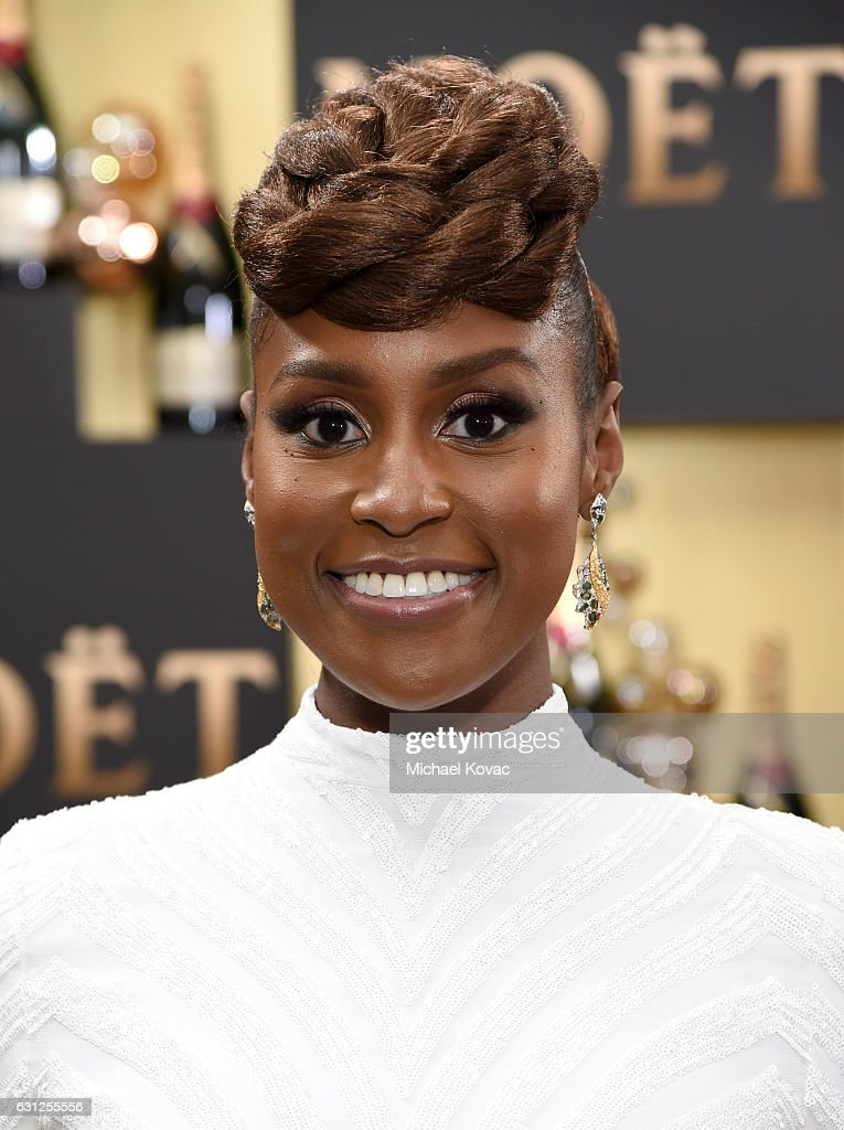 Moet & Chandon At The 74th Annual Golden Globe Awards - Red Carpet : News Photo