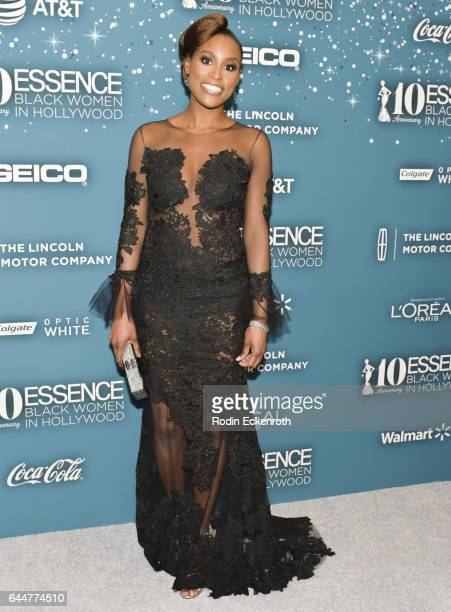 Actress Issa Rae attends the Essence 10th Annual Black Women in Hollywood Awards Gala at the Beverly Wilshire Four Seasons Hotel on February 23 2017...