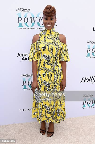 Actress Issa Rae attends The Hollywood Reporter's Annual Women in Entertainment Breakfast in Los Angeles at Milk Studios on December 7 2016 in...