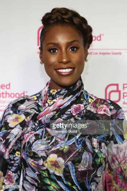 Actress Issa Rae attends the Planned Parenthood Advocacy Project Los Angeles County's Politics Sex Cocktails at NeueHouse Hollywood on November 4...