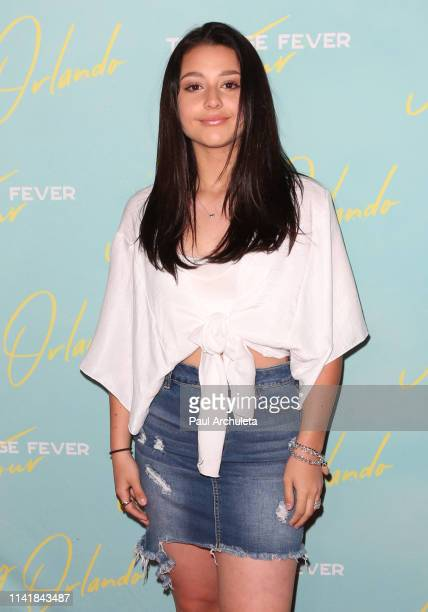 Actress Issie Swickle attends the Johnny Orlando EP release and tour kick off party at Bardot on April 07 2019 in Hollywood California