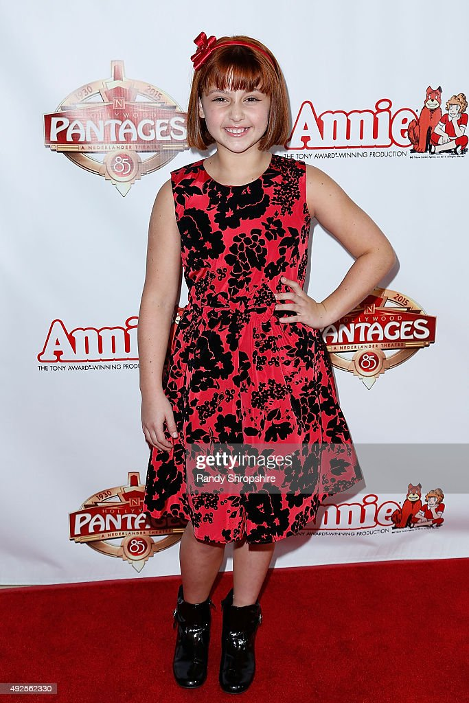 "Premiere Of ""Annie"" At The Hollywood Pantages Theatre : News Photo"