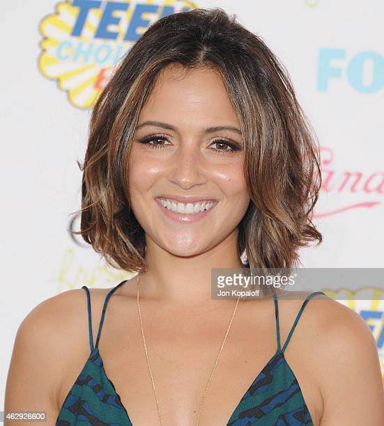 Actress Italia Ricci arrives at the 2014 Teen Choice Awards at The Shrine Auditorium on August 10 2014 in Los Angeles California