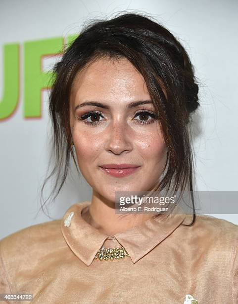 Actress Italia Ricci attends a Fan Screening of CBS Films' The Duff at the TCL Chinese 6 Theatres on February 12 2015 in Hollywood California