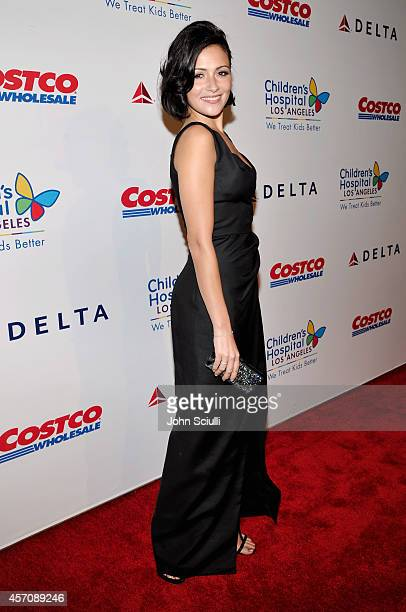 Actress Italia Ricci attends the Children's Hospital Los Angeles' Gala: Noche De Ninos at LA Live on October 11, 2014 in Los Angeles, California.