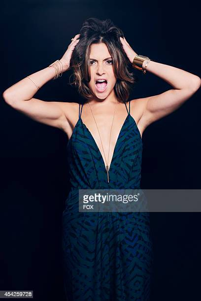Actress Italia Ricci is photographed at the Fox 2014 Teen Choice Awards at The Shrine Auditorium on August 10 2014 in Los Angeles California
