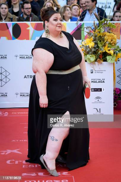 Actress Itziar Castro attends the Malaga Film Festival 2019 closing day gala at Cervantes Theater on March 23 2019 in Malaga Spain