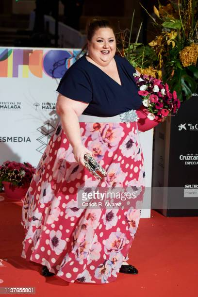 Actress Itziar Castro attends the 'Retrospeciva' award ceremony during the 22th Malaga Film Festival on March 22 2019 in Malaga Spain