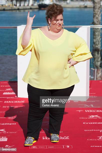 Actress Itziar Castro attends 'Vis a Vis' photocall during 21th MAlaga Film Festival on April 15 2018 in Malaga Spain