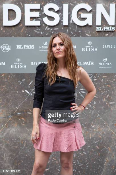 Actress Itziar Ituño attends Icon Design 3rd Anniversary at Lazaro Galdiano Museum on June 27 2019 in Madrid Spain