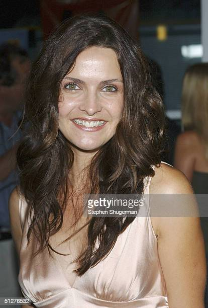 Actress Iva Hasperger attends the premiere of VLAD at the Arclight Theater on September 8 2004 in Hollywood California