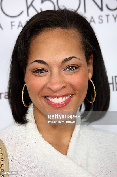 Actress Iva La Shawn attends the premiere of A E Network's The Jacksons A Family Dynasty at Boulevard 3 on December 9 2009 in Los Angeles California