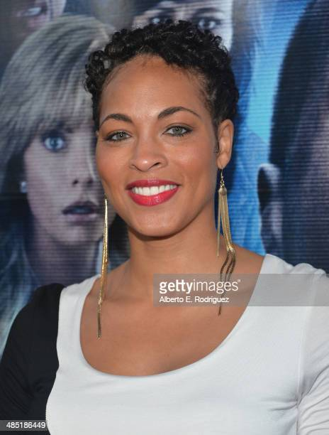 Actress Iva La'Shawn arrives to the premiere of Open Road Films' A Haunted House 2 at Regal Cinemas LA Live on April 16 2014 in Los Angeles California