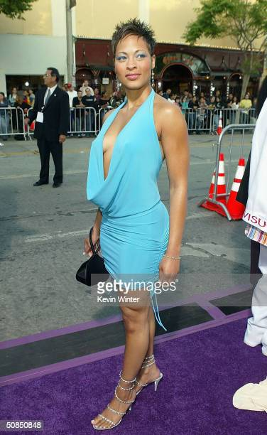Actress Iva La'shawn attends the world premiere of the MGM Pictures' film Soul Plane on May 17 2004 at the Mann Village Theatre in Westwood California
