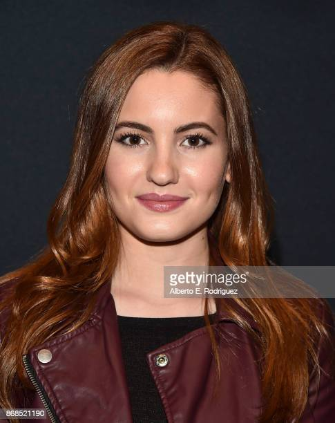 Actress Ivana Baquero attends The Academy Presents A Screening And Conversation For Pan's Labyrinth at The Samuel Goldwyn Theater on October 30 2017...