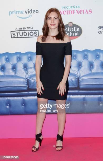 Actress Ivana Baquero attends the 'Pequenas coincidencias' photocall at Palacio de la Prensa cinema on December 03 2018 in Madrid Spain