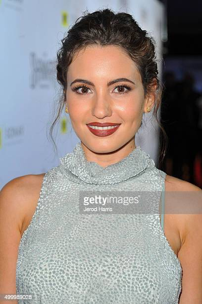 Actress Ivana Baquero attends the series premiere party for 'The Shannara Chronicles' On MTV at iPic Theaters on December 4 2015 in Los Angeles...