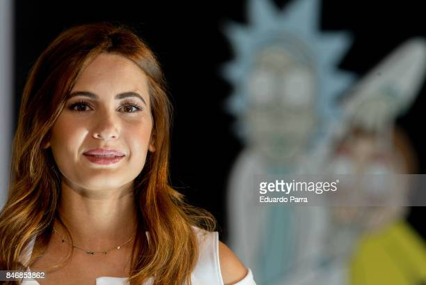 Actress Ivana Baquero attends the Tnt and TMC new season presentation at Matadero Madrid on September 14 2017 in Madrid Spain
