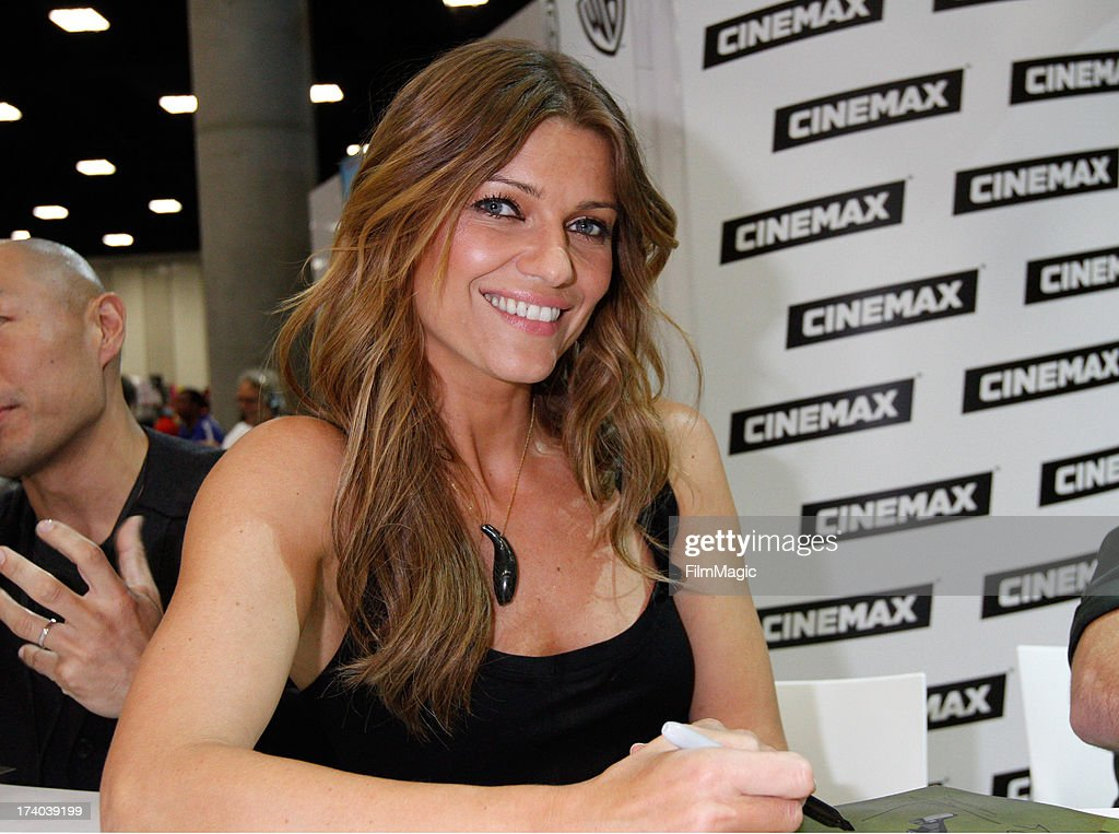 Actress Ivana Milicevic attends Cinemax's 'Banshee' cast autograph signing at San Diego Convention Center on July 19, 2013 in San Diego, California.