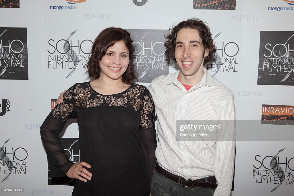 Actress Ivette Dumeng and Director David Meyers attend SOHO International Film Festival 2015 at Village East Cinema on May 14, 2015 in New York City.