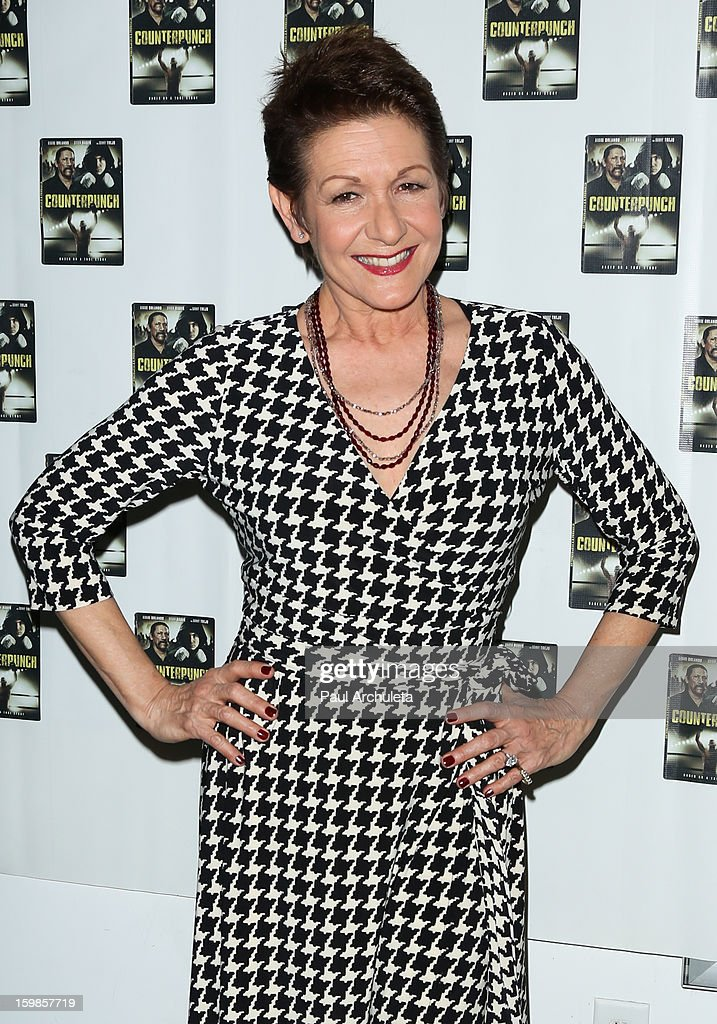 Actress Ivonne Coll attends the Counterpunch screening at the Downtown Independent Theatre on January 20, 2013 in Los Angeles, California.
