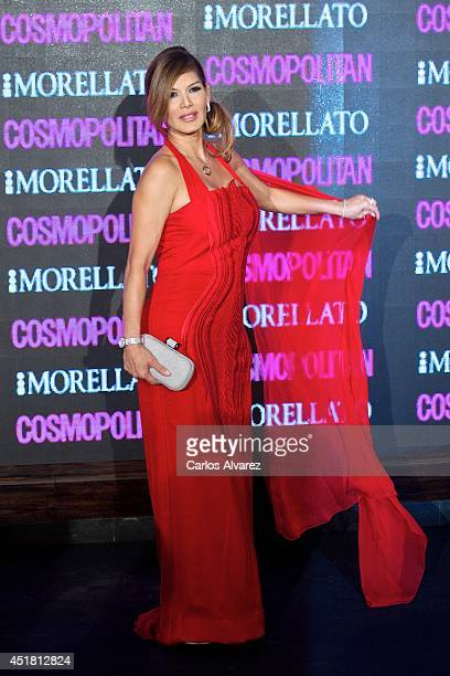 Actress Ivonne Reyes attends the Cosmopolitan Beauty Awards at the Platea Restaurant on July 7 2014 in Madrid Spain