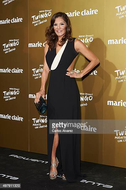 Actress Ivonne Reyes attends the Marie Claire Prix de la Moda 2015 at the Callao cinema on November 19 2015 in Madrid Spain