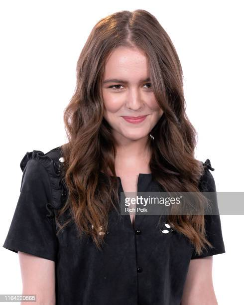 Actress Izabela Vidovic visits 'The IMDb Show' on July 12 2019 in Studio City California This episode of 'The IMDb Show' airs on July 29 2019