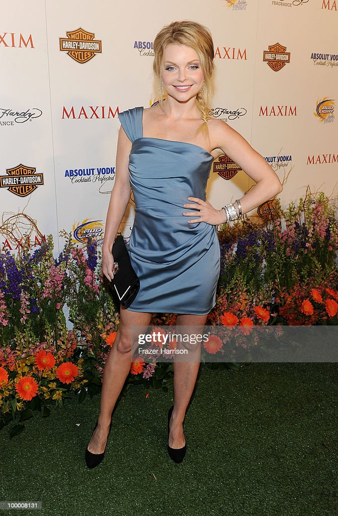 Actress Izabella Miko arrives at the 11th annual Maxim Hot 100 Party with Harley-Davidson, ABSOLUT VODKA, Ed Hardy Fragrances, and ROGAINE held at Paramount Studios on May 19, 2010 in Los Angeles, California.