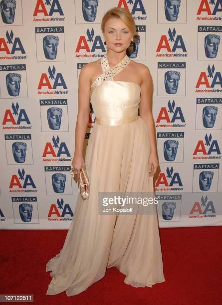 Actress Izabella Miko arrives at the 18th Annual BAFTA/LA Britannia Awards at Hyatt Regency Century Plaza on November 5, 2009 in Century City,...