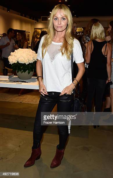 Actress Izabella Scorupco attends the Anine Bing Celebrates Los Angeles Flagship Opening at Anine Bing Boutique on October 14 2015 in Los Angeles...