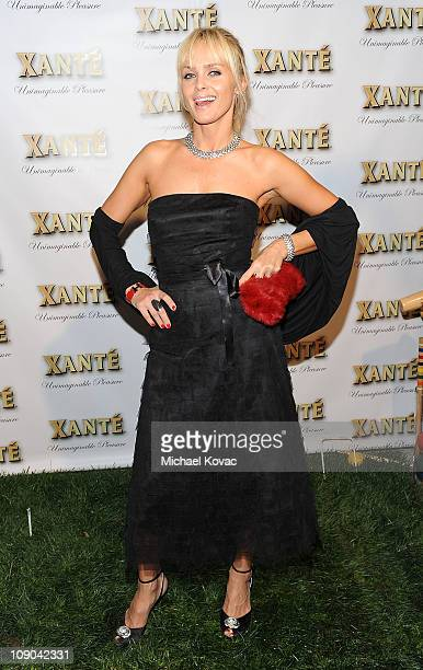 Actress Izabella Scorupco attends the Grammy Xante Party with Jonas Hallberg and Ina Soltani at Private Residence on February 12 2011 in Pacific...