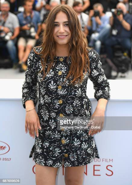 Actress Izia Higelin attends the 'Rodin' photocall during the 70th annual Cannes Film Festival at Palais des Festivals on May 24 2017 in Cannes France