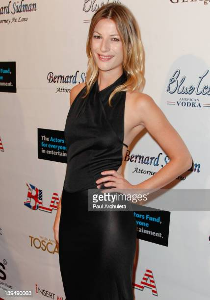 Actress Jaala Pickering attends the 5th Annual Toscars at SupperClub Los Angeles on February 21 2012 in Los Angeles California