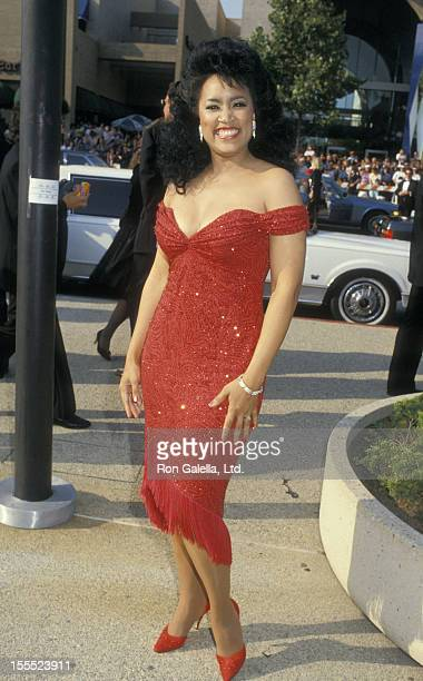 Actress Jackee Harry attends 39th Annual Primetime Emmy Awards on September 20 1987 at the Pasadena Civic Auditorium in Pasadena California