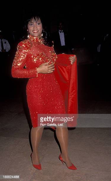 Actress Jackee Harry attends Fire and Ice Ball on December 4 1991 at the Beverly Hilton Hotel in Beverly Hills California