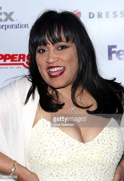 """Actress Jackee Harry attends the Dress For Success """"April In Paris"""" annual gala at Marriott Marquis on April 19, 2005 in New York City."""