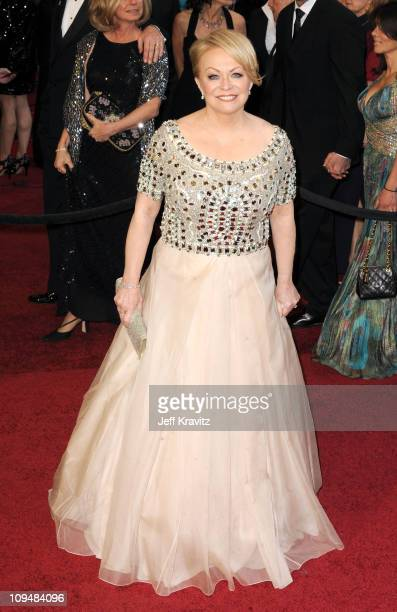 Actress Jacki Weaver arrives at the 83rd Annual Academy Awards held at the Kodak Theatre on February 27 2011 in Los Angeles California