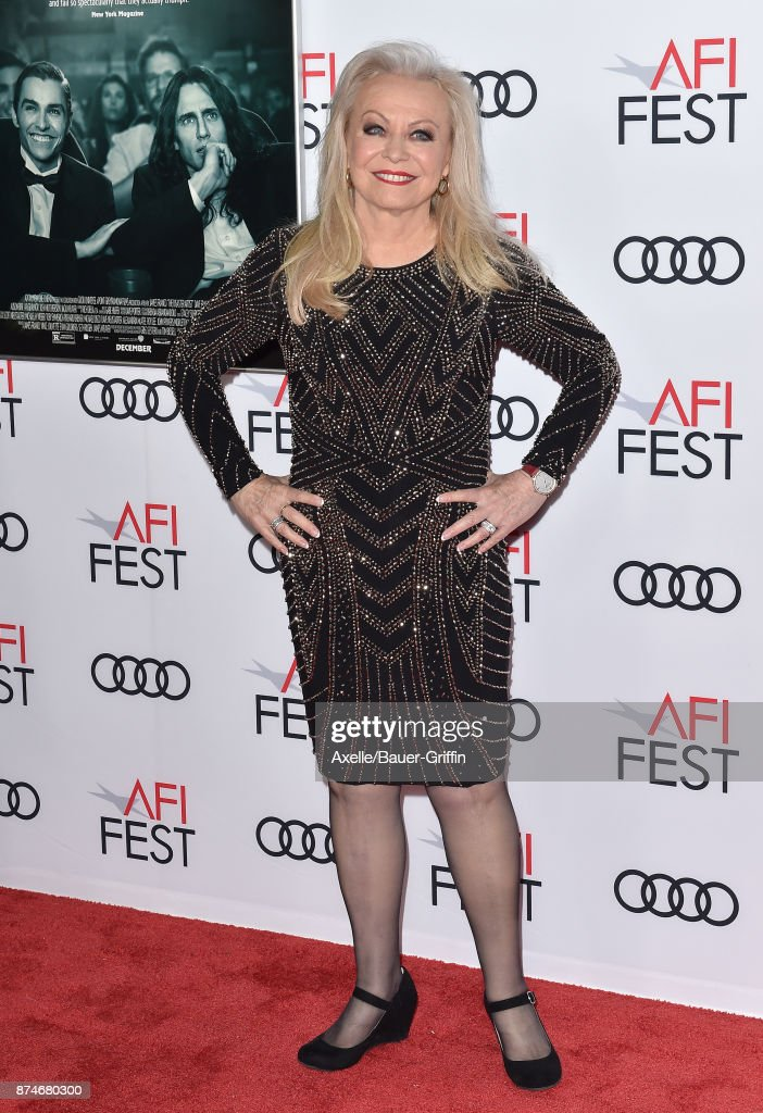 Actress Jacki Weaver arrives at the AFI FEST 2017 presented by Audi - screening of 'The Disaster Artist' at TCL Chinese Theatre on November 12, 2017 in Hollywood, California.