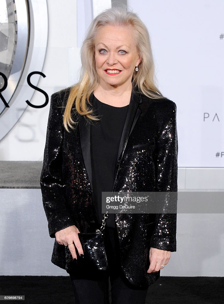 Actress Jacki Weaver arrives at the premiere of Columbia Pictures' 'Passengers' at Regency Village Theatre on December 14, 2016 in Westwood, California.