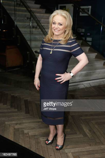 Actress Jacki Weaver attends The Weinstein Company Academy Award Party hosted by Chopard at Soho House on February 23 2013 in West Hollywood...