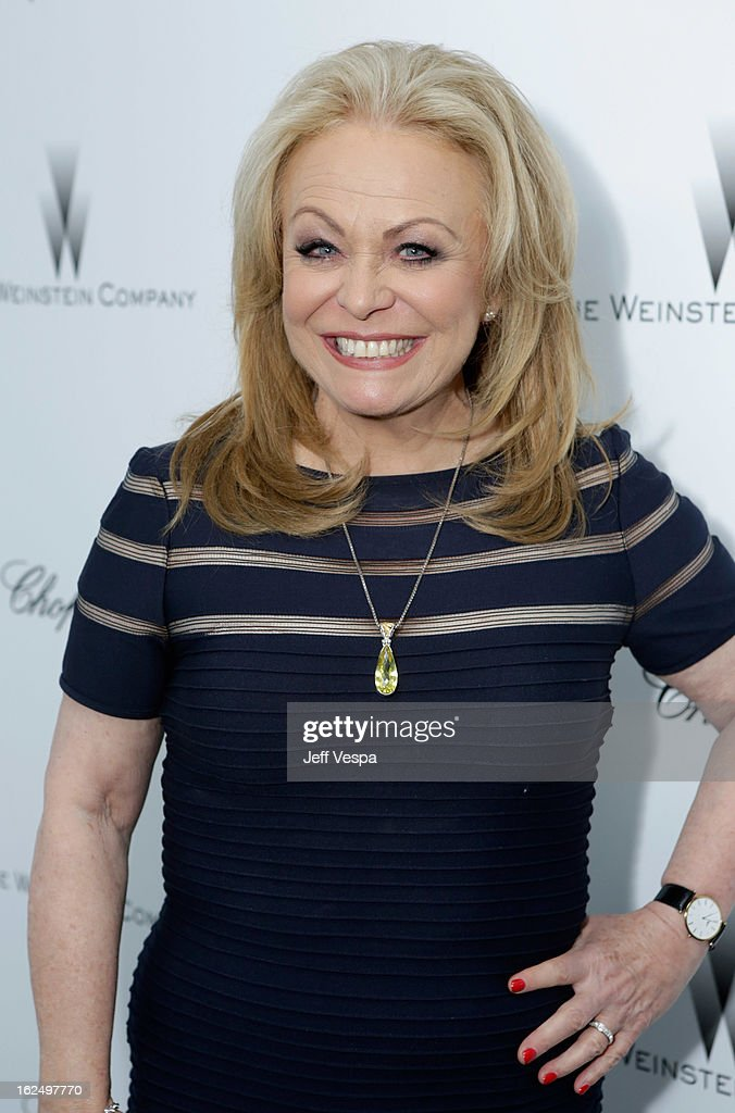 Actress Jacki Weaver attends The Weinstein Company Academy Award Party hosted by Chopard at Soho House on February 23, 2013 in West Hollywood, California.